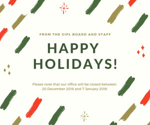 GIPL Christmas Closure